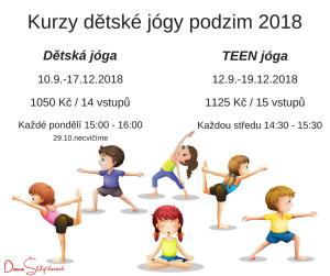 Kurz jóga 2018